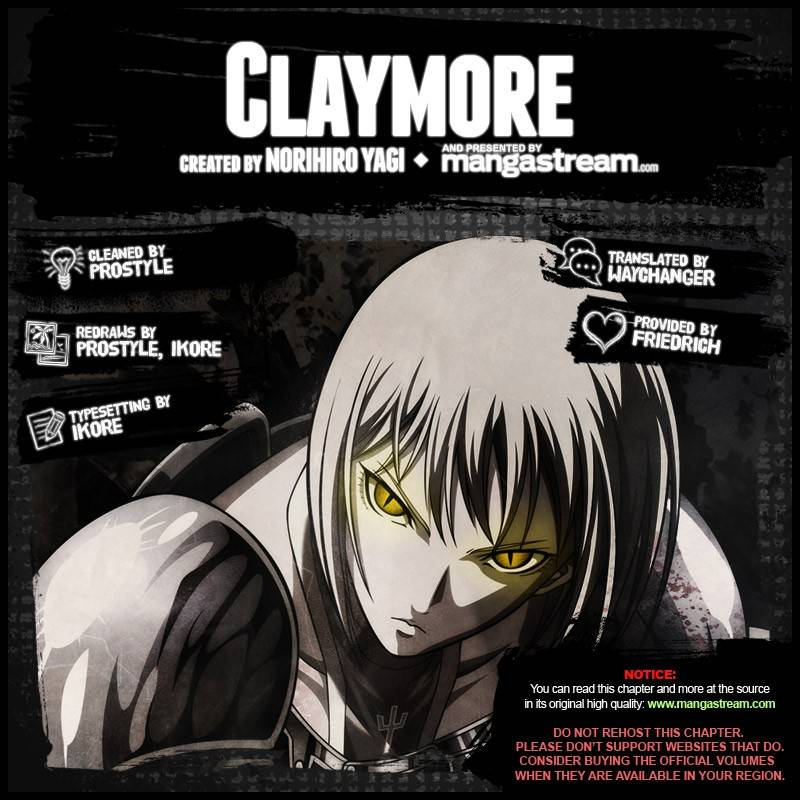 Claymore, Chapter 137 image 002