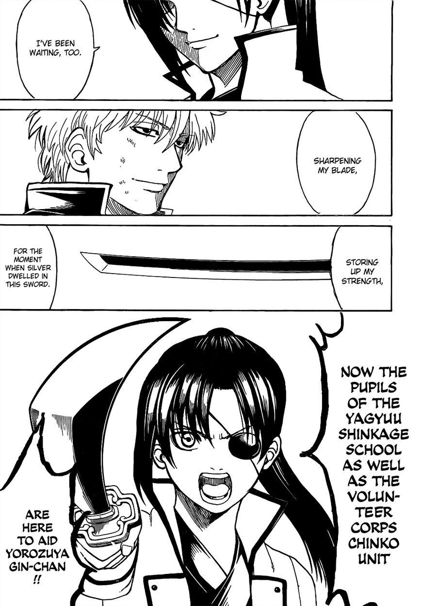 Gintama Chapter, 617 image 012