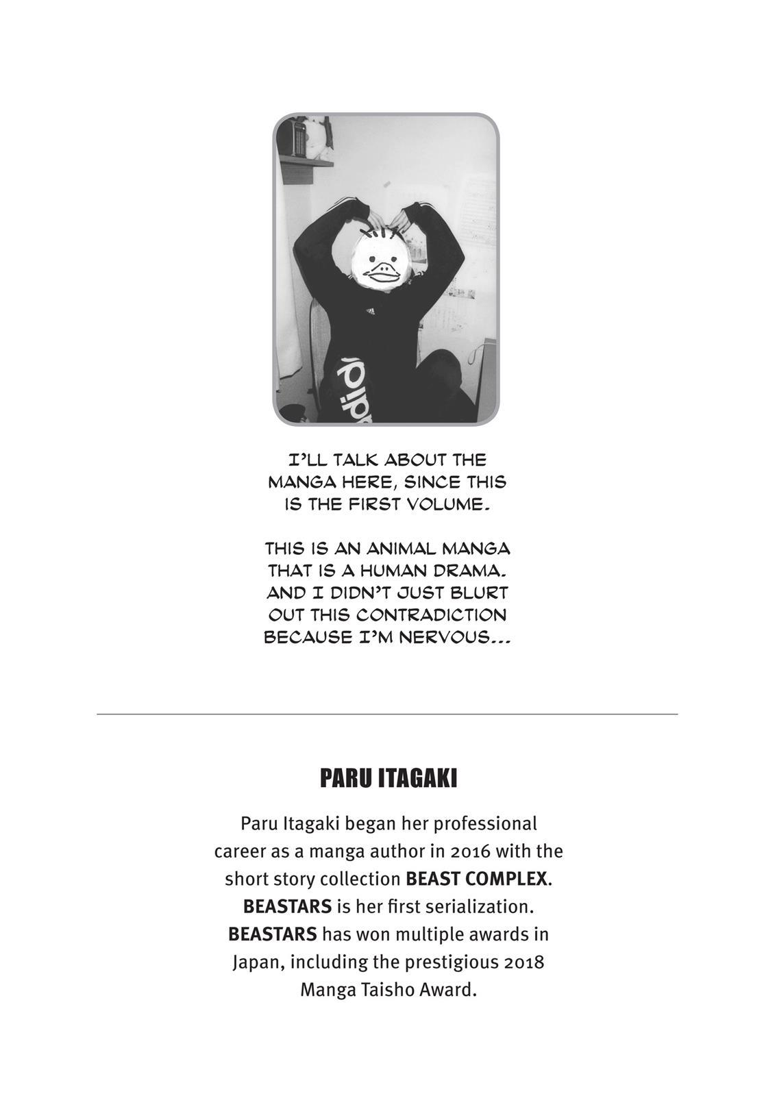 Beastars Manga, Chapter 7 image 027