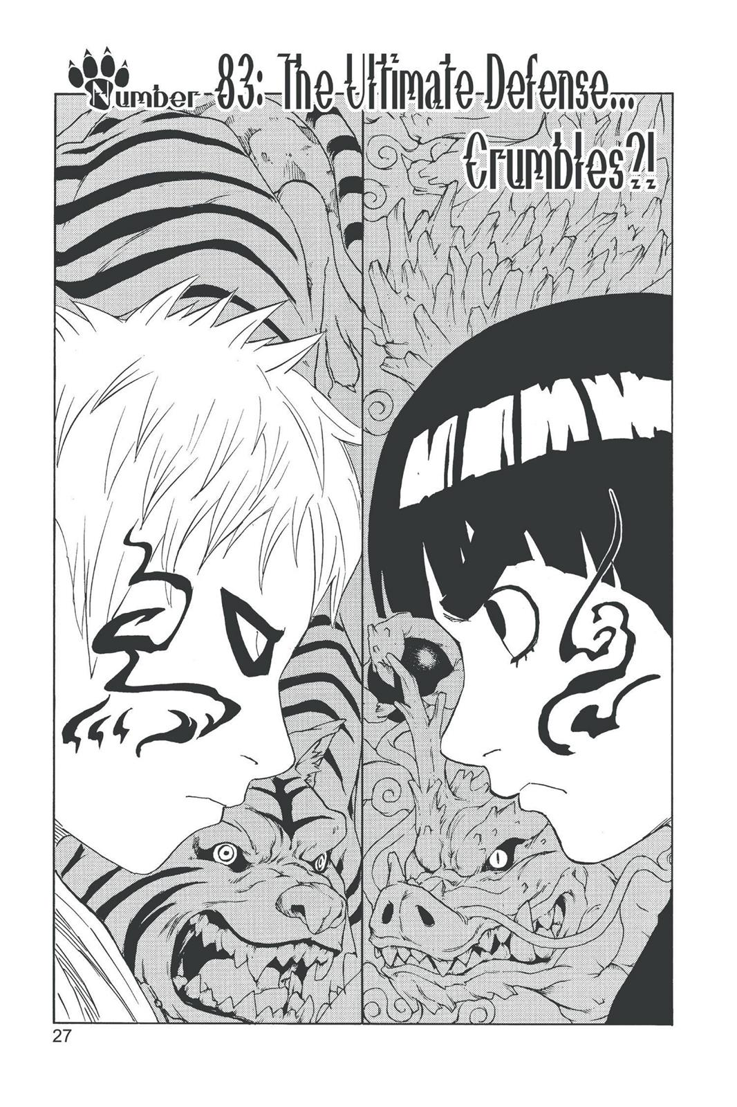 Naruto, Chapter 83 image 001
