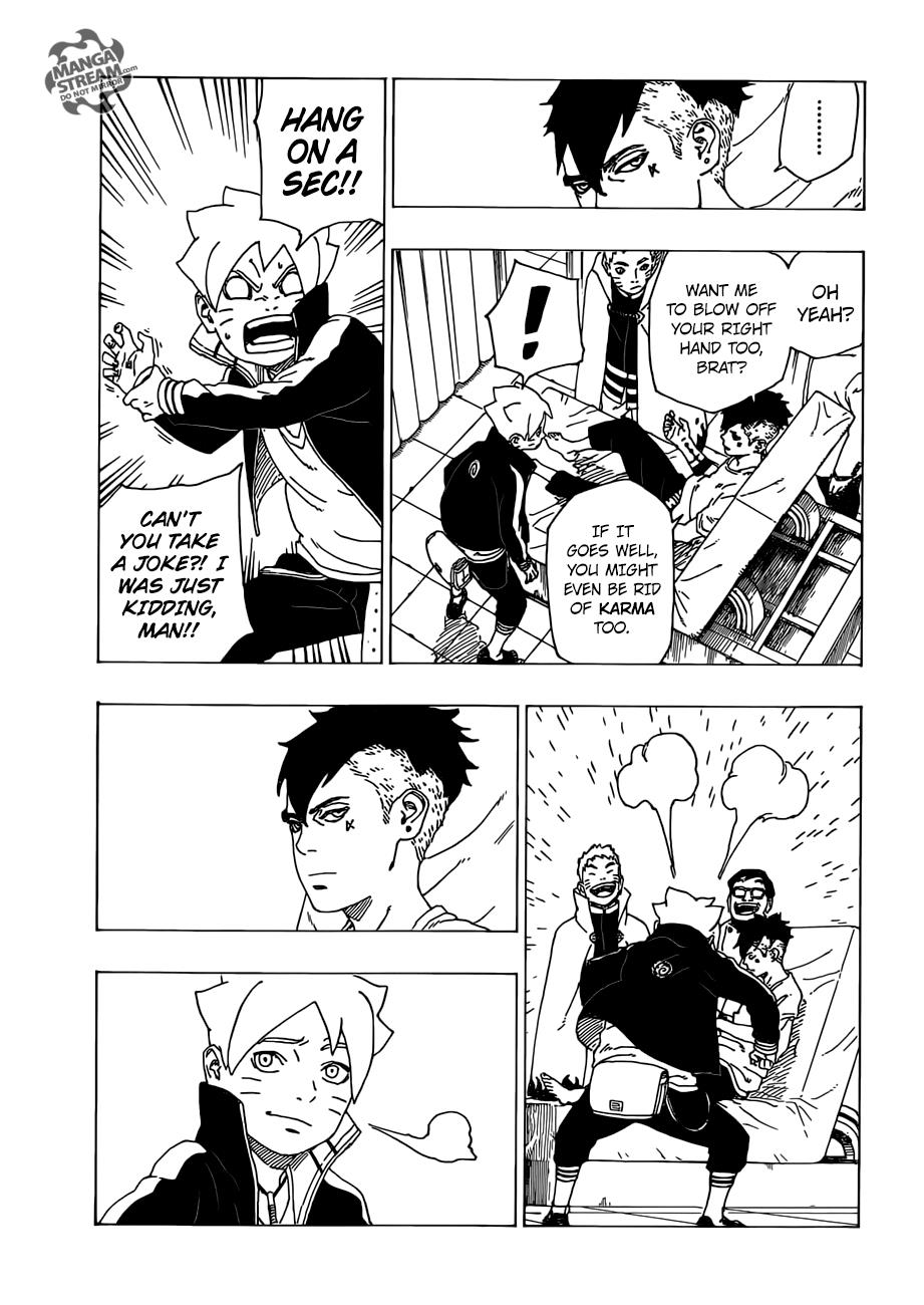 Boruto Manga, Chapter 34 image 014