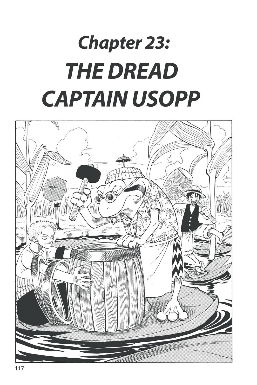 One Piece, Chapter 23 image 001