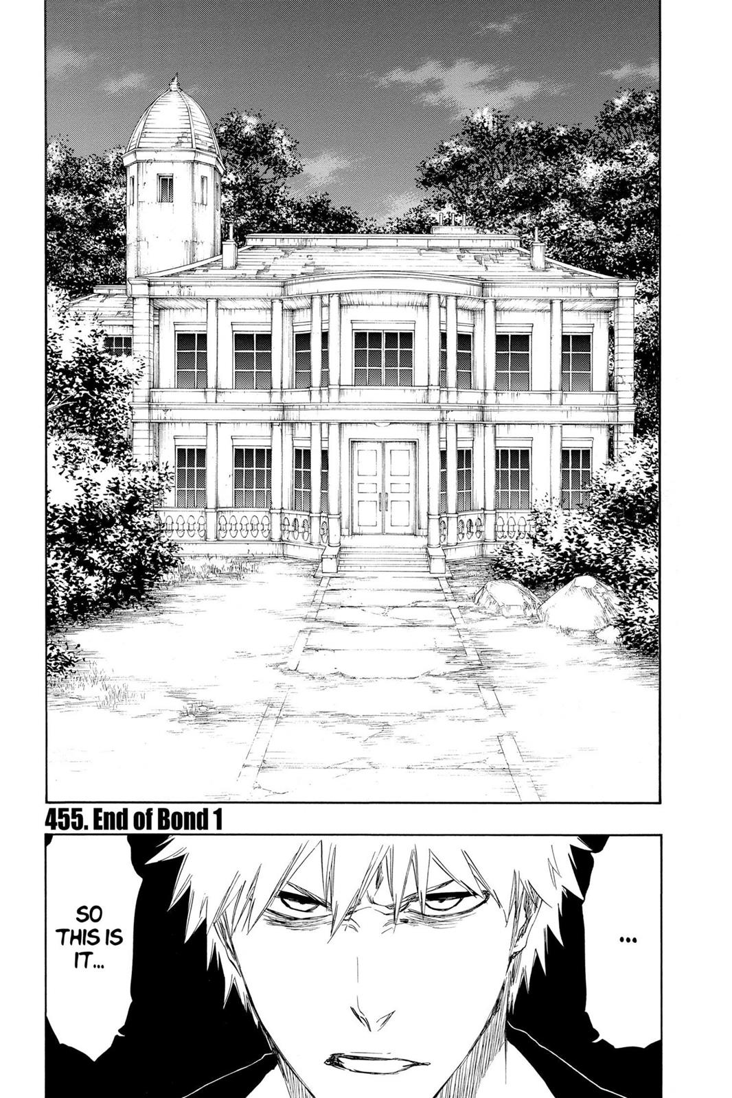 Bleach, Chapter 455 image 001