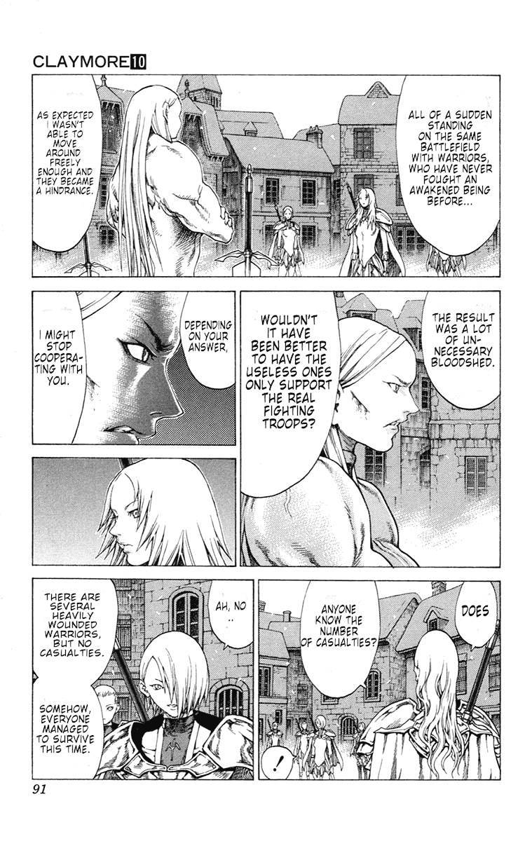 Claymore, Chapter 54 image 020