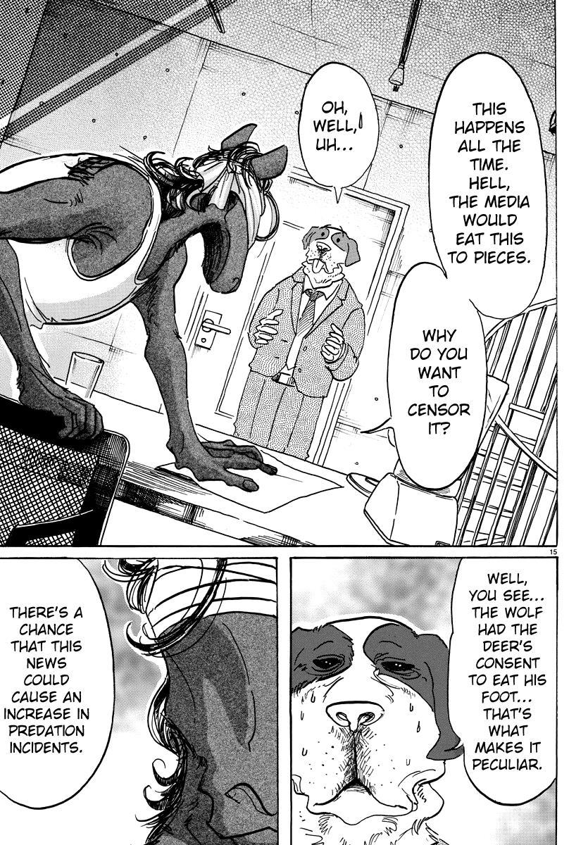 Beastars Manga, Chapter 99 image 015