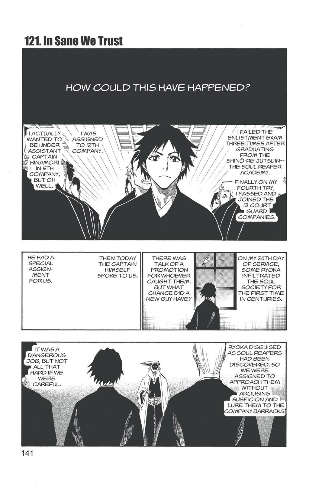 Bleach, Chapter 121 image 001