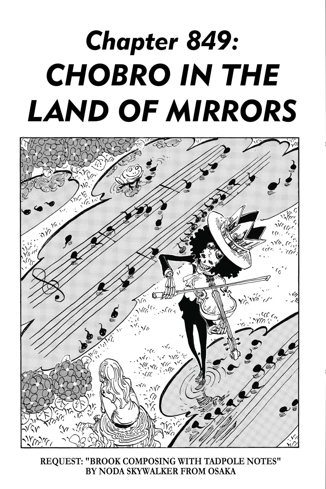 One Piece, Chapter 849 image 008