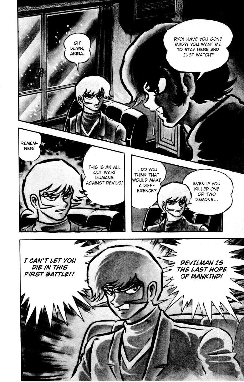 Devilman, Chapter 4 image 003