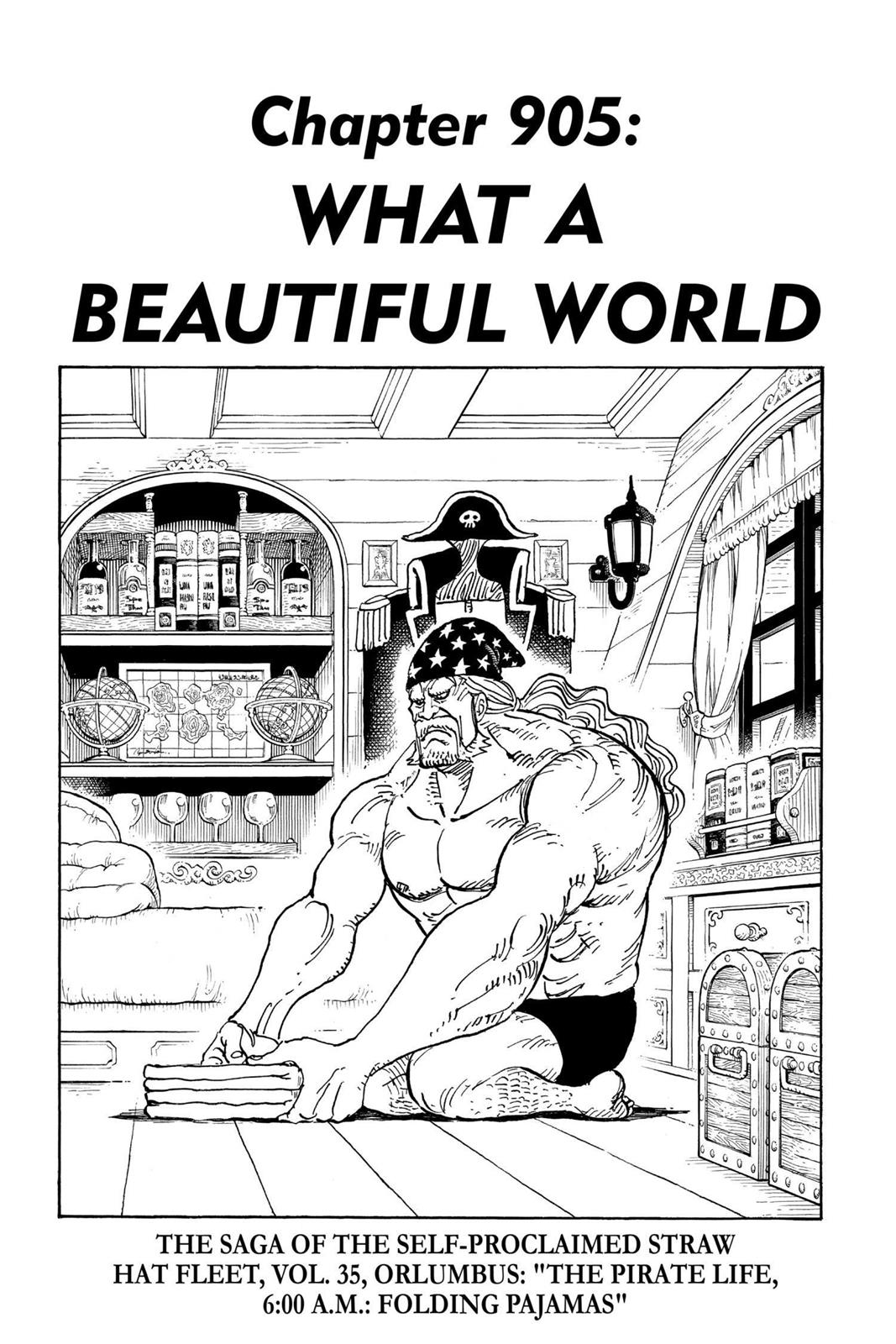 One Piece, Chapter 905 image 001