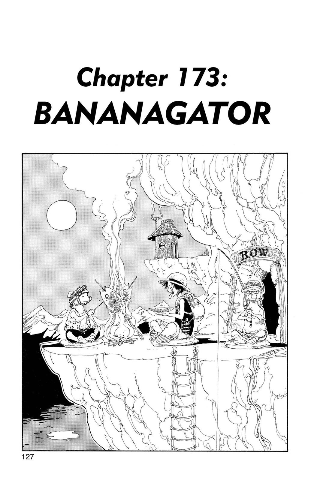 One Piece, Chapter 173 image 001