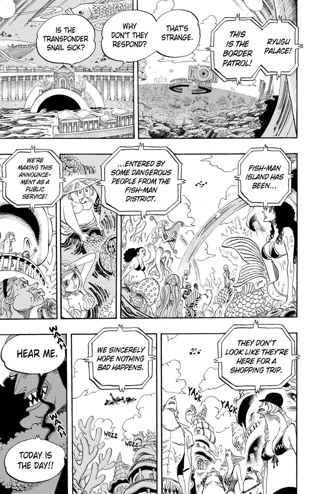 One Piece, Chapter 616 image 003