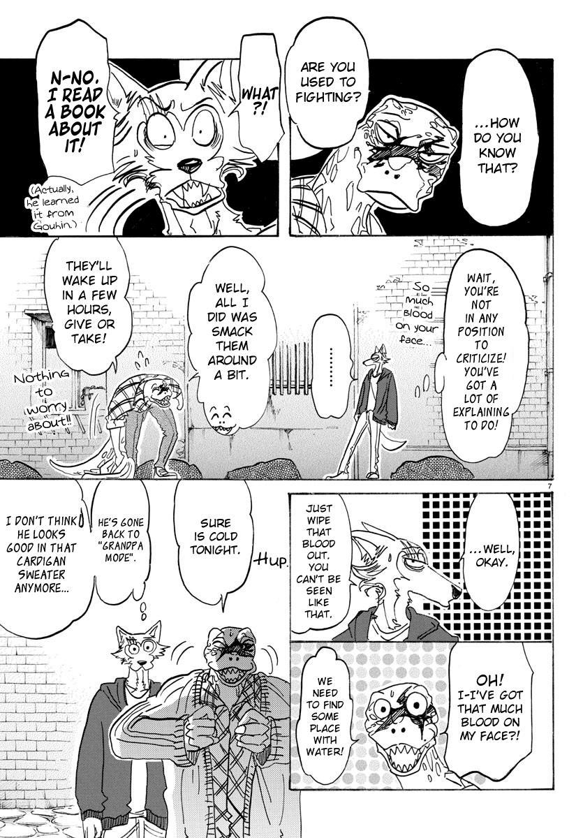 Beastars Manga, Chapter 107 image 006