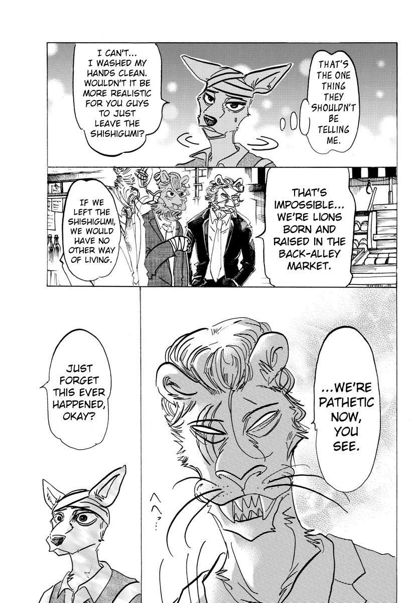Beastars Manga, Chapter 132 image 011