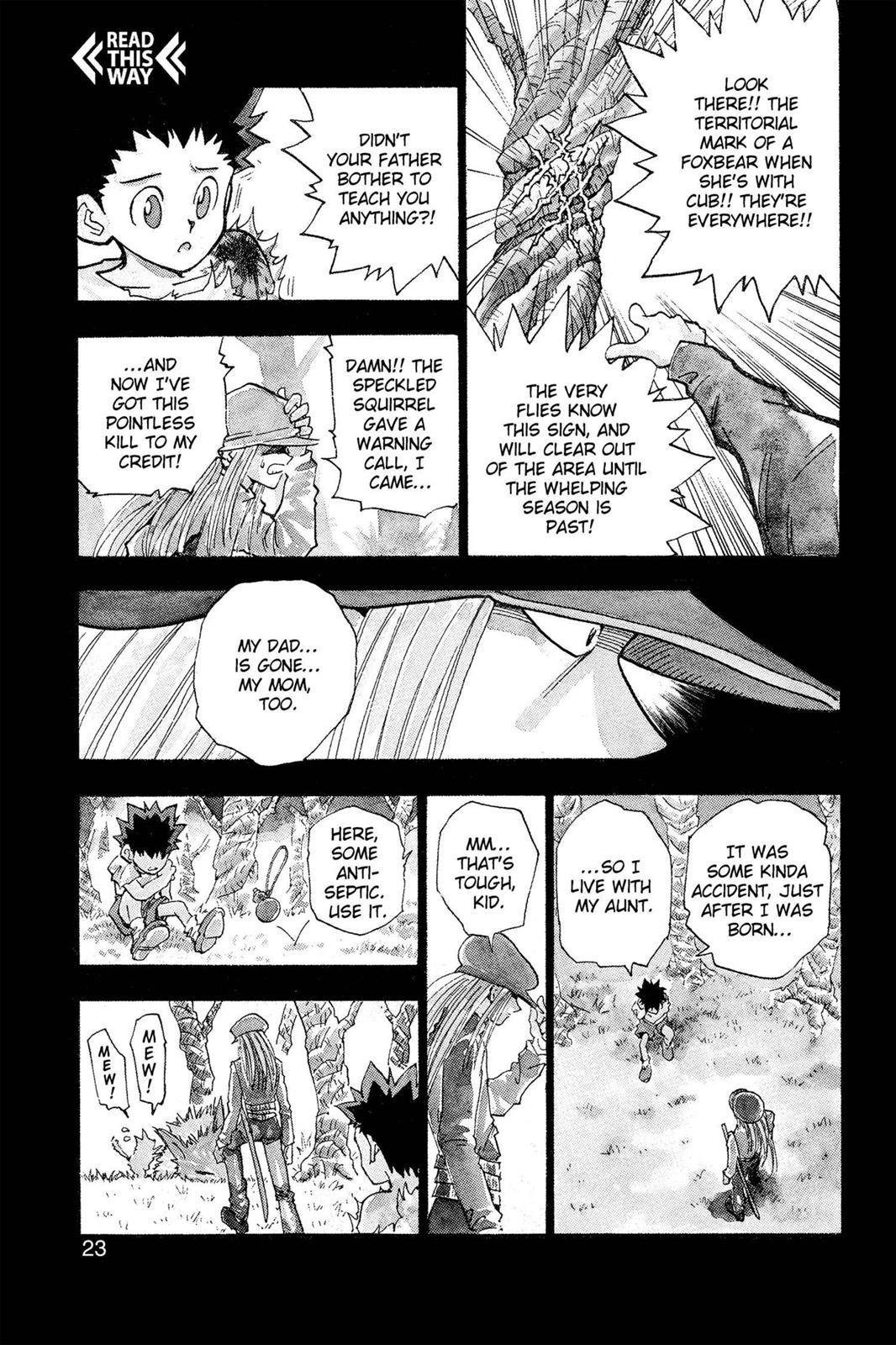Hunter X Hunter, Chapter 1 image 024