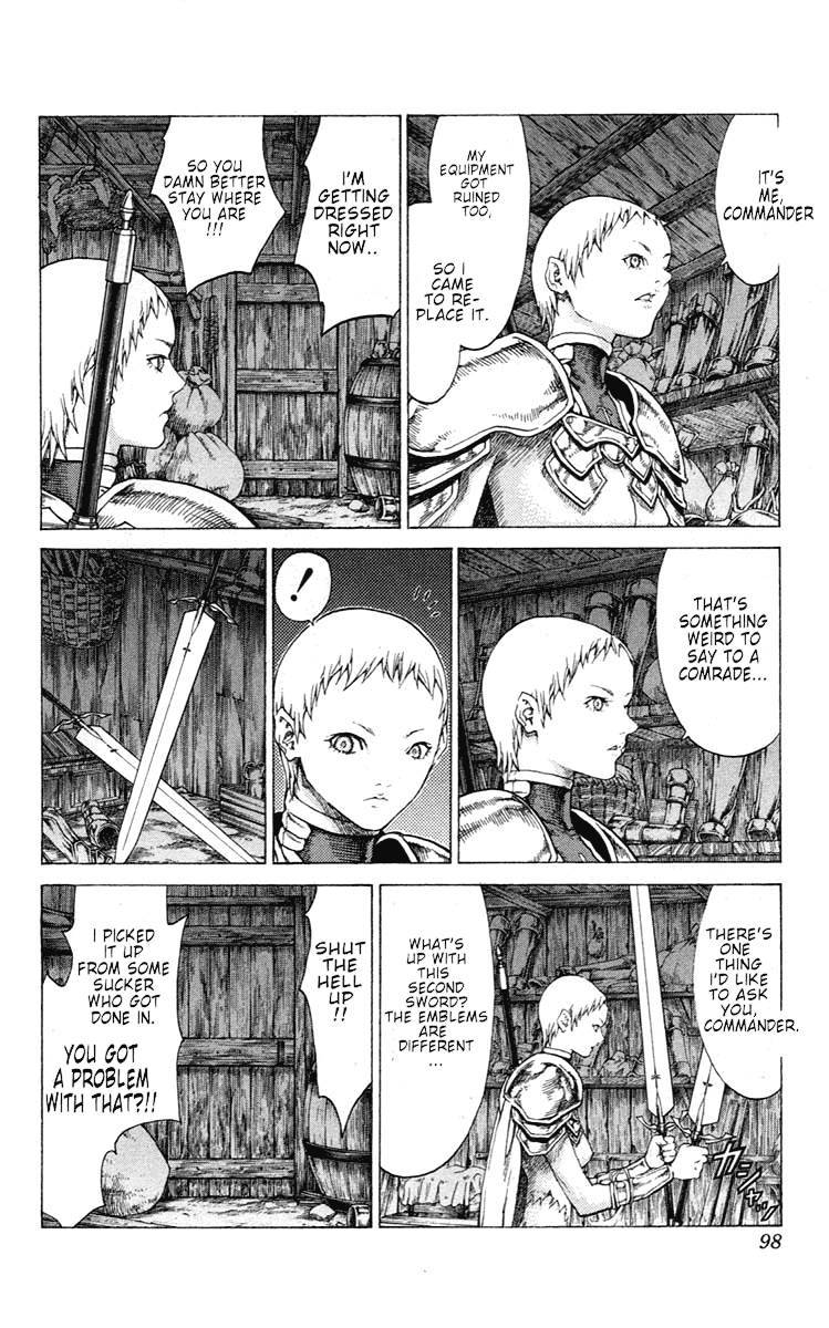 Claymore, Chapter 54 image 027