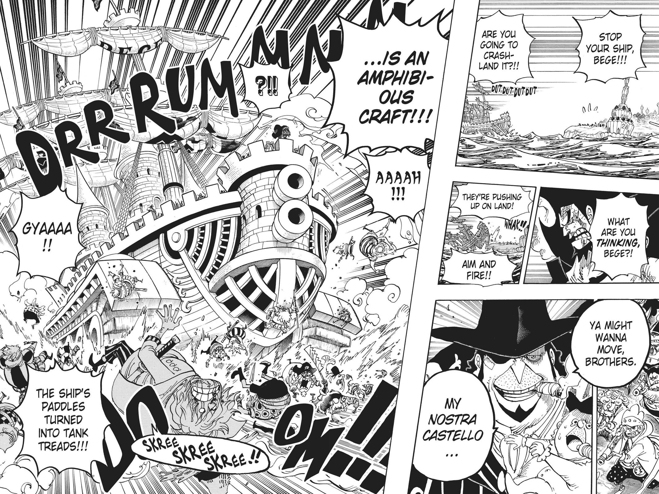 One Piece, Chapter 887 image 003