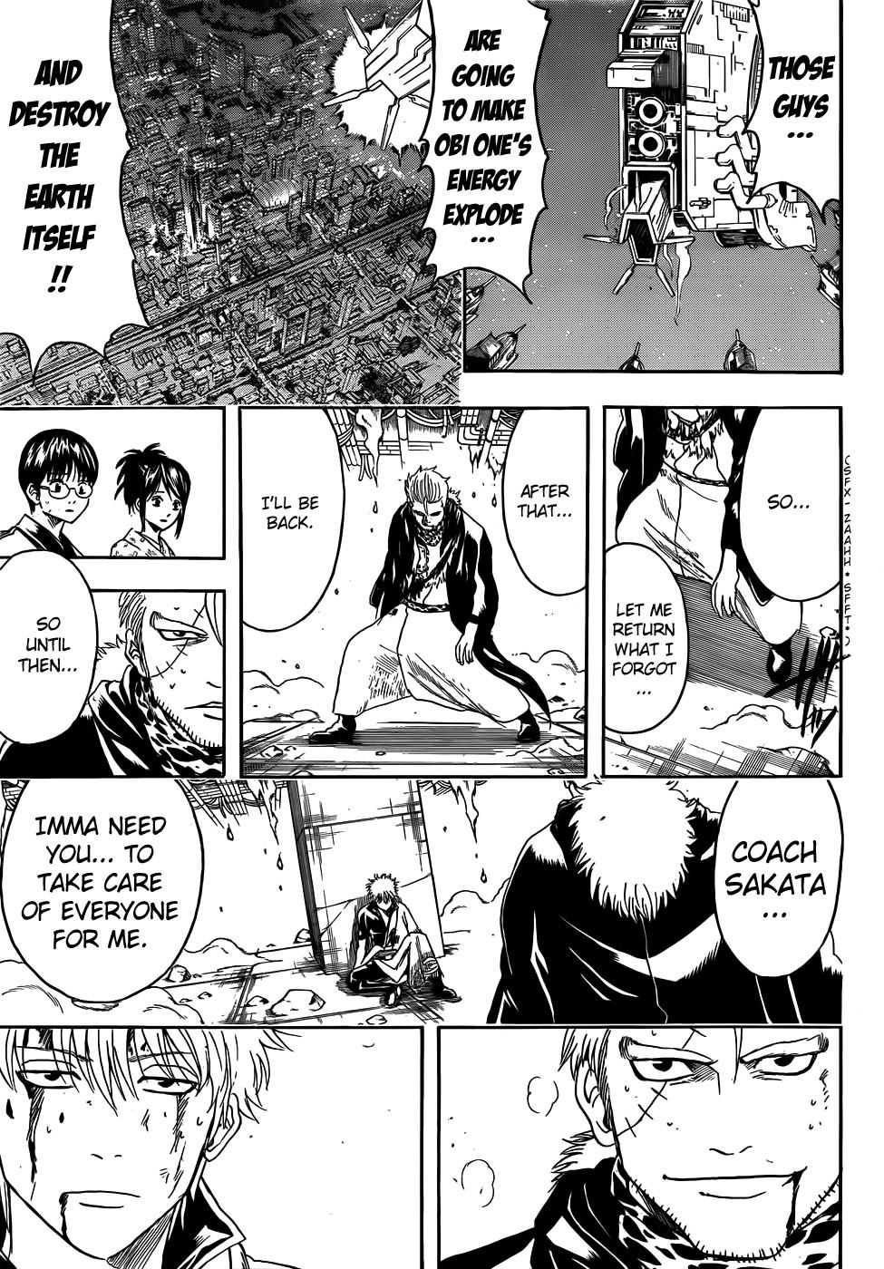 Gintama Chapter, 409 image 011