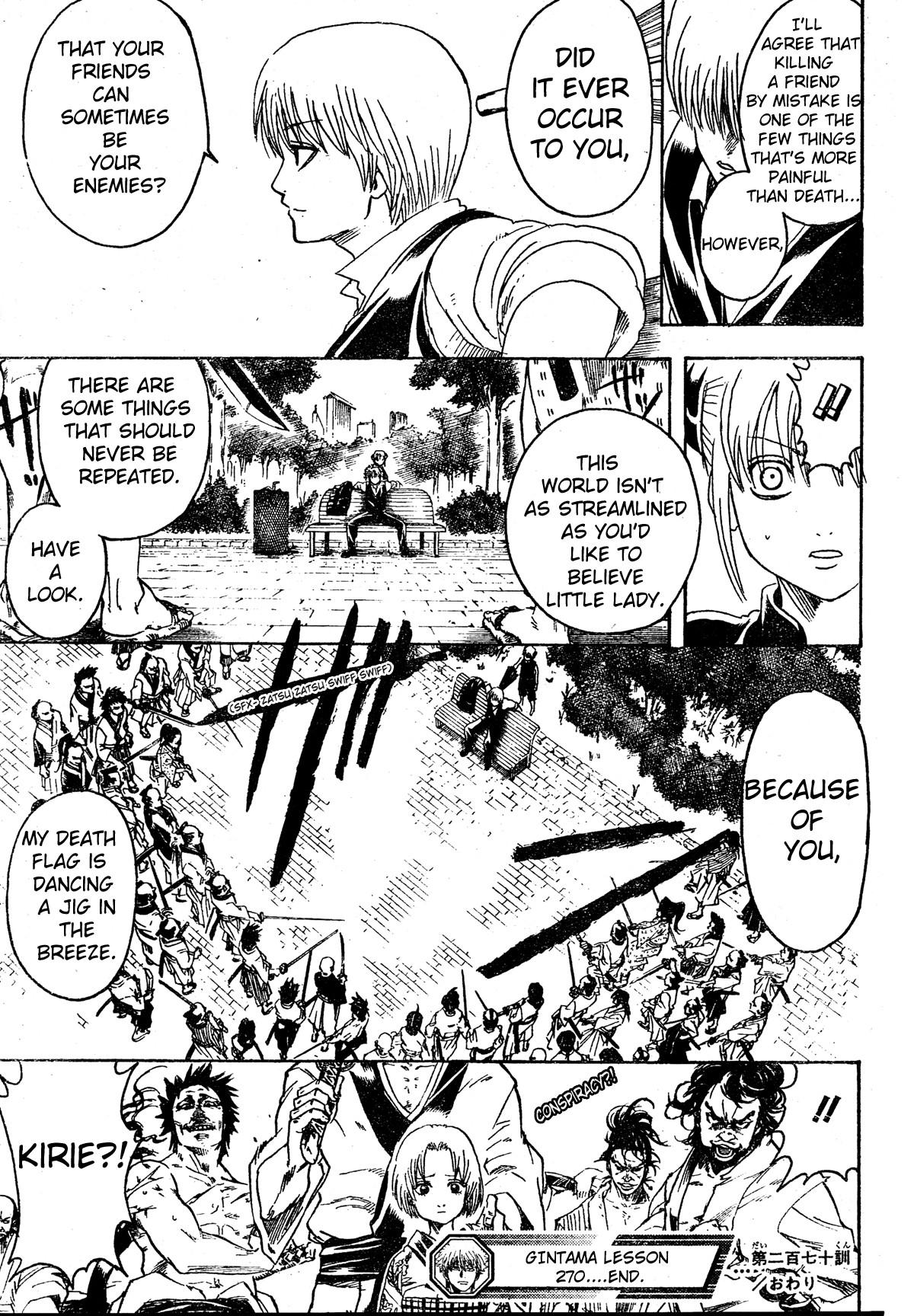 Gintama Chapter, 270 image 019