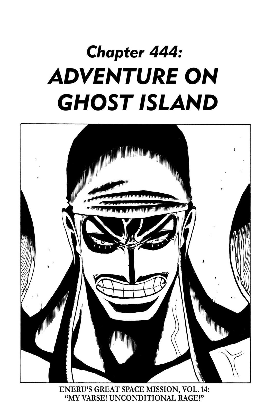 One Piece, Chapter 444 image 001