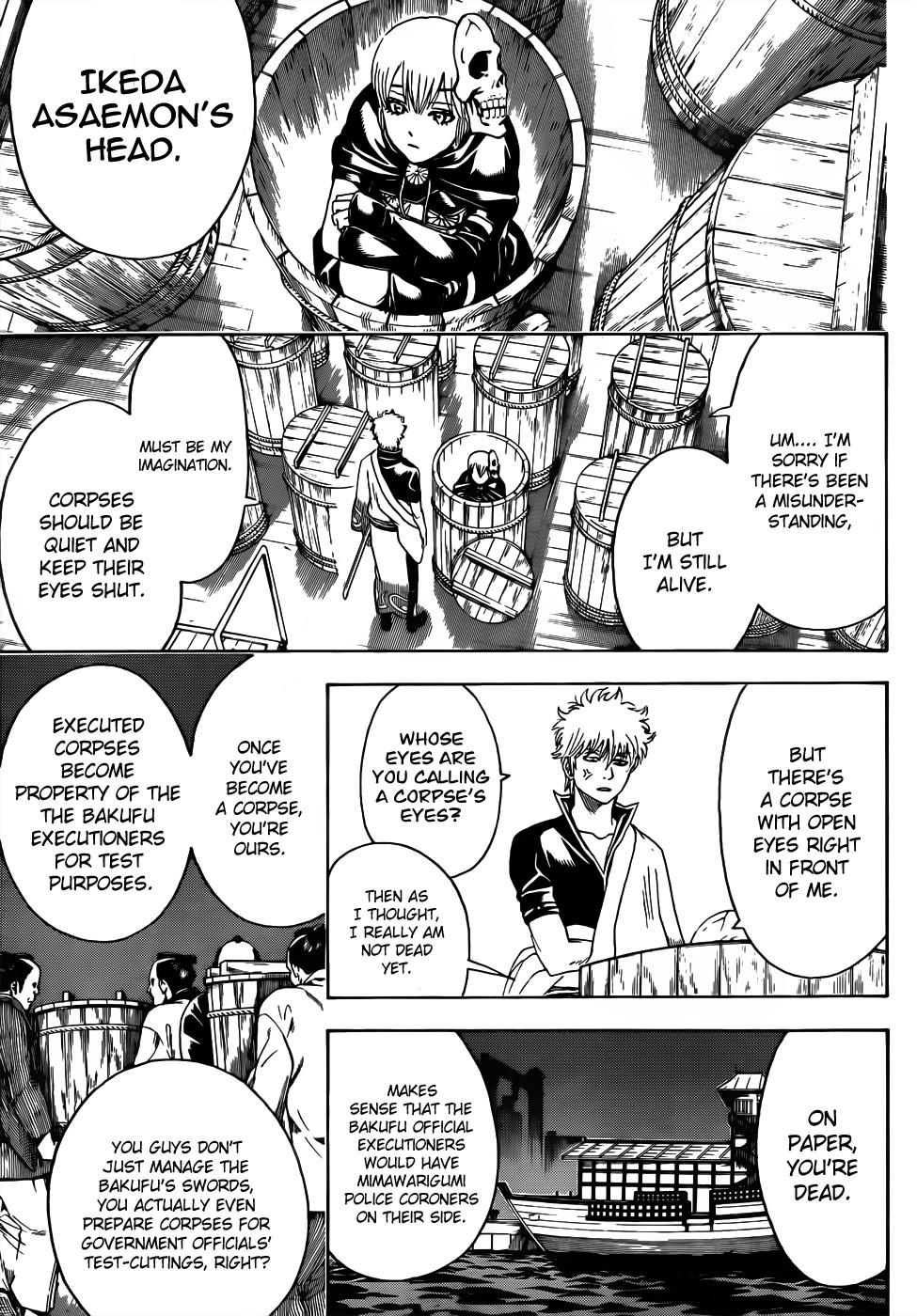 Gintama Chapter, 465 image 005