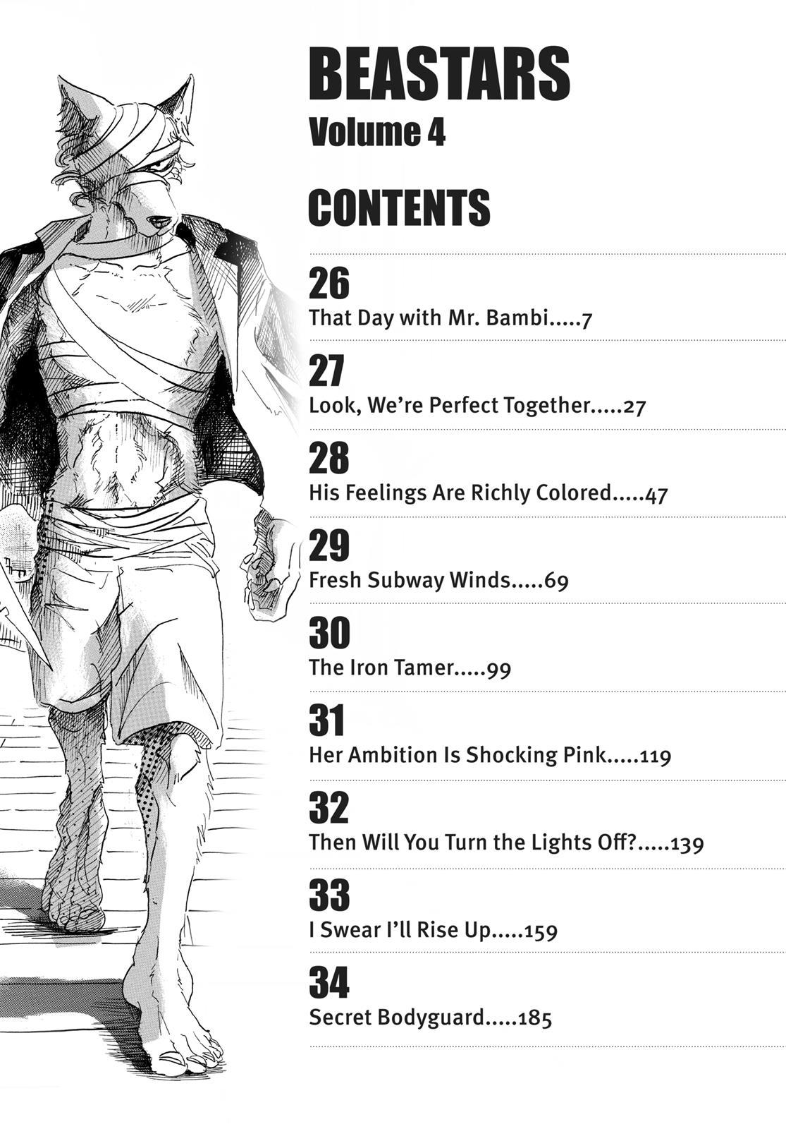 Beastars Manga, Chapter 26 image 005