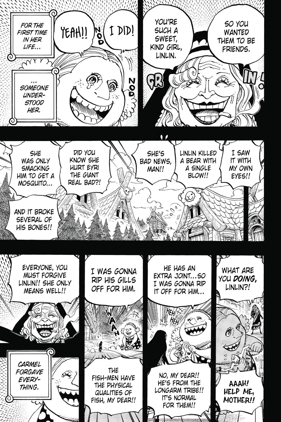 One Piece, Chapter 866 image 009