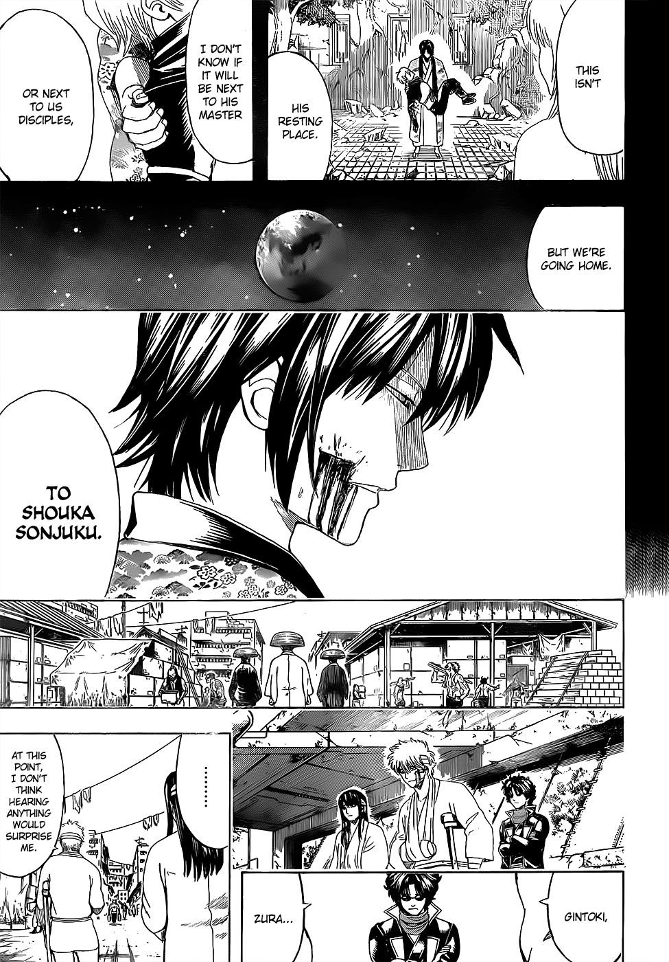 Gintama Chapter, 595 image 007