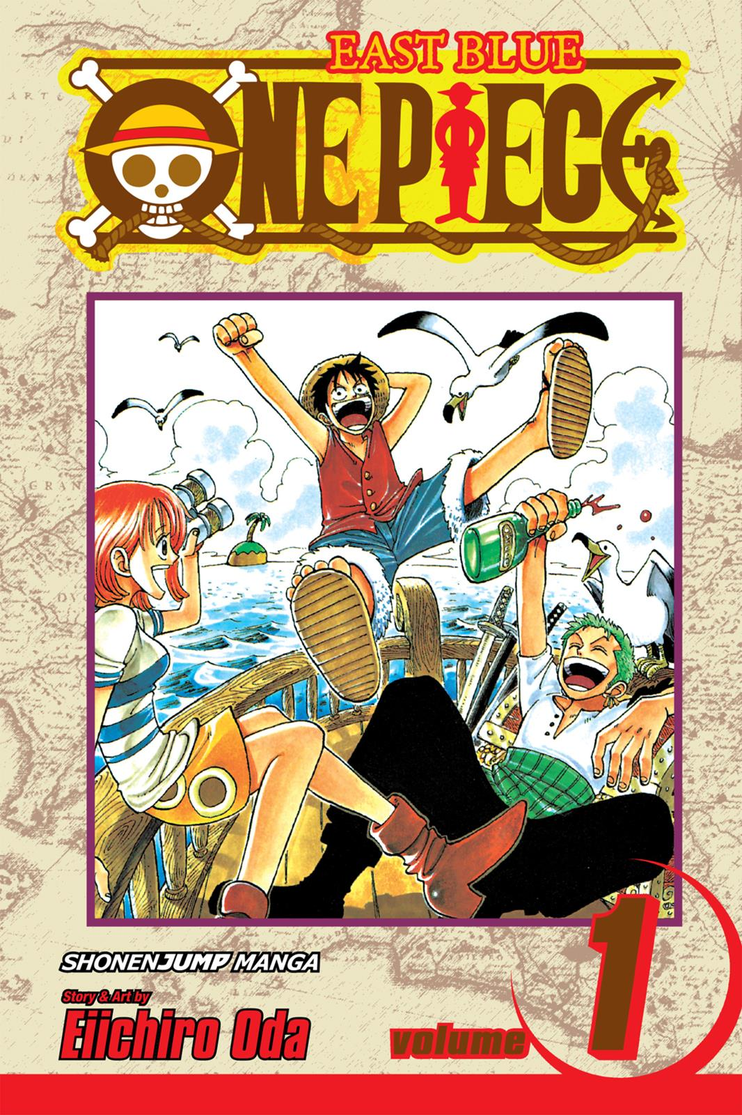 One Piece, Chapter 1 image 001