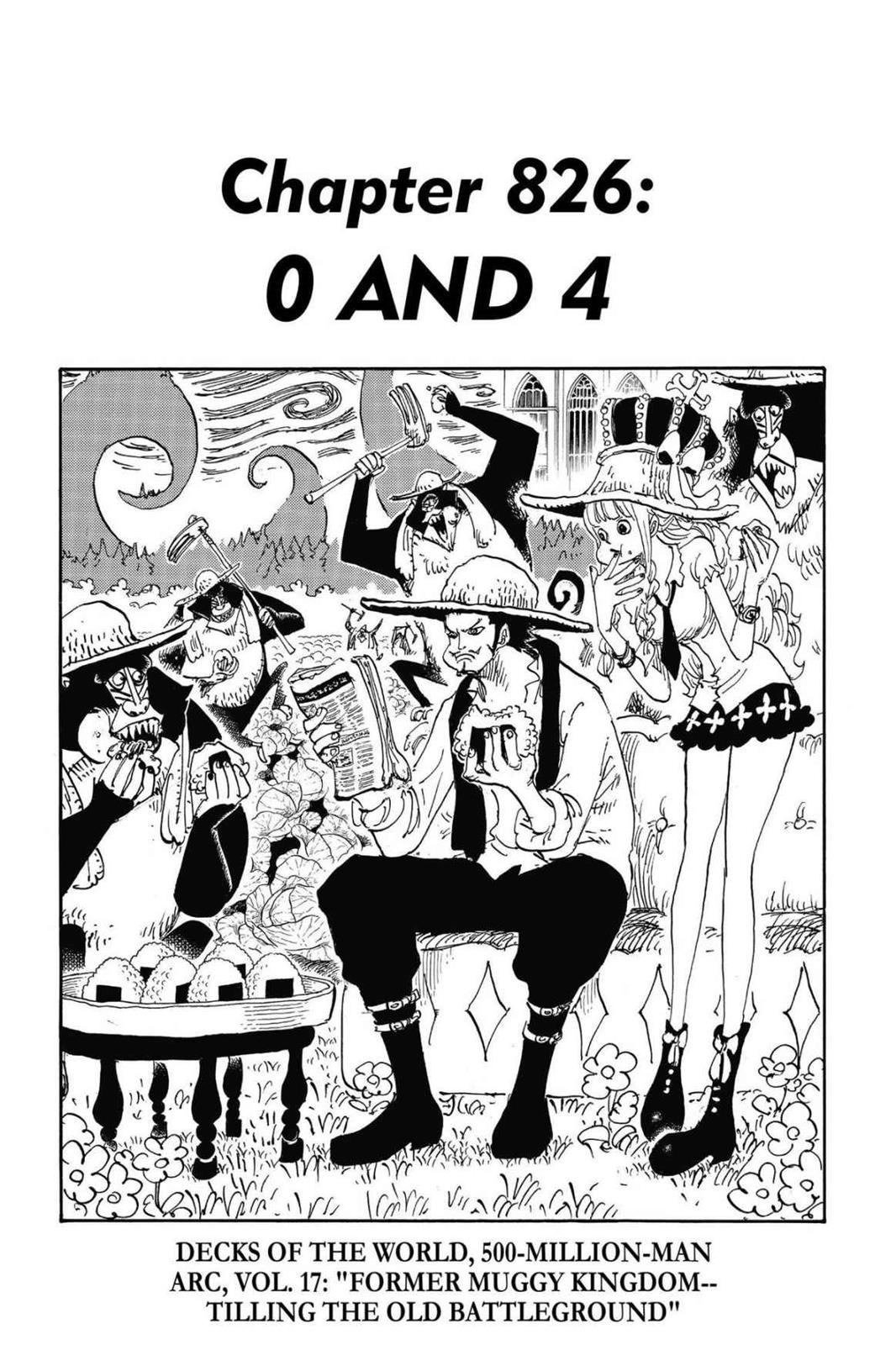 One Piece, Chapter 826 image 001