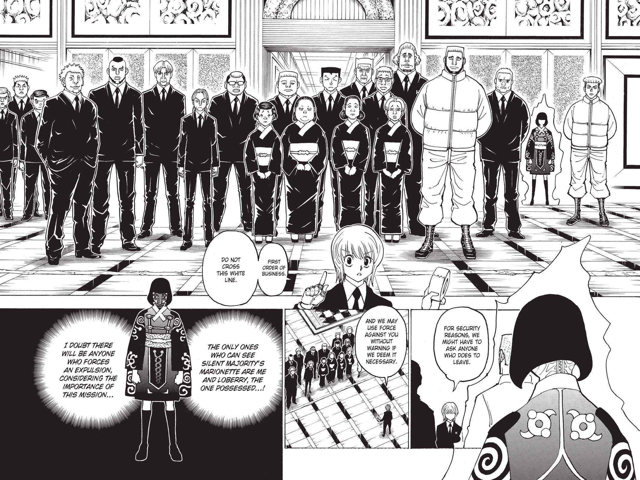 Hunter X Hunter, Chapter 370 image 002