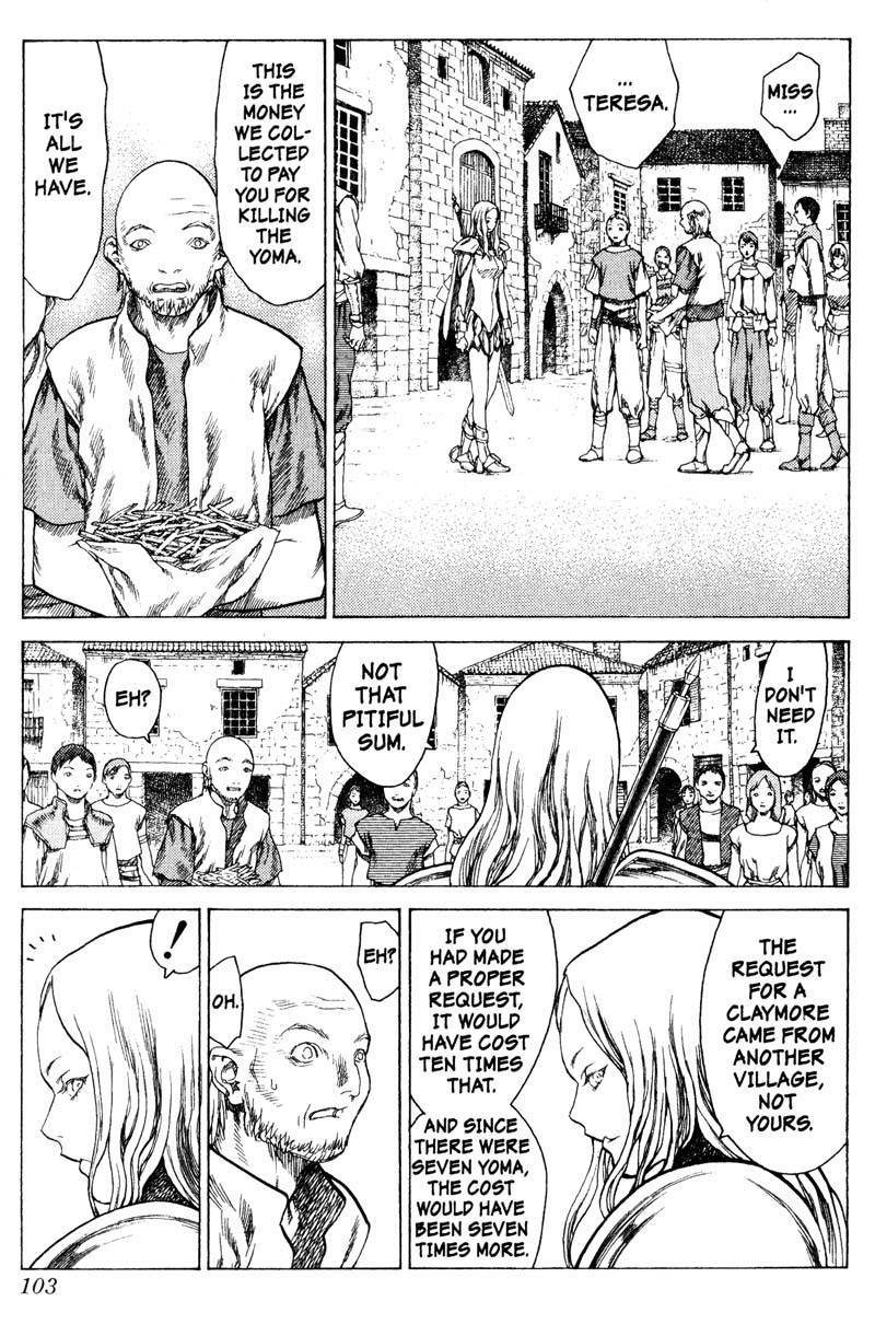 Claymore, Chapter 13 image 006