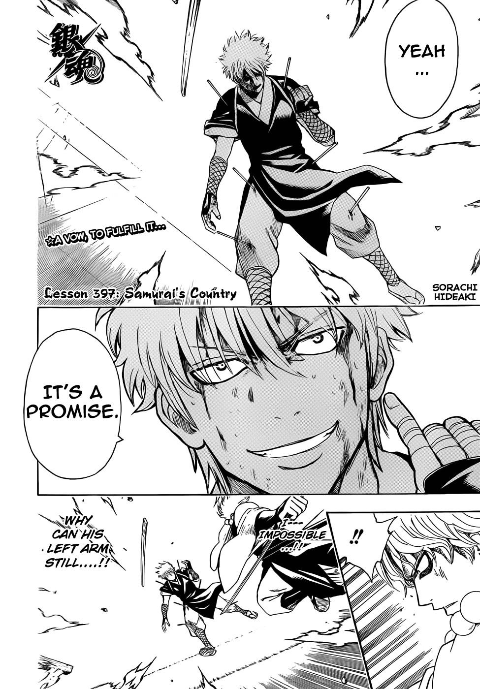 Gintama Chapter, 397 image 002