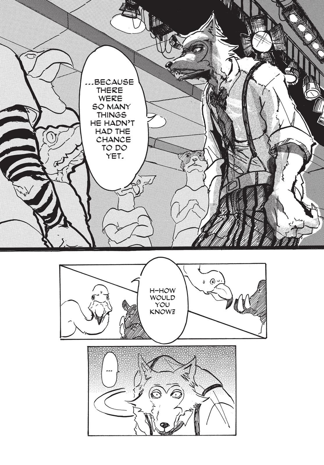 Beastars Manga, Chapter 1 image 027