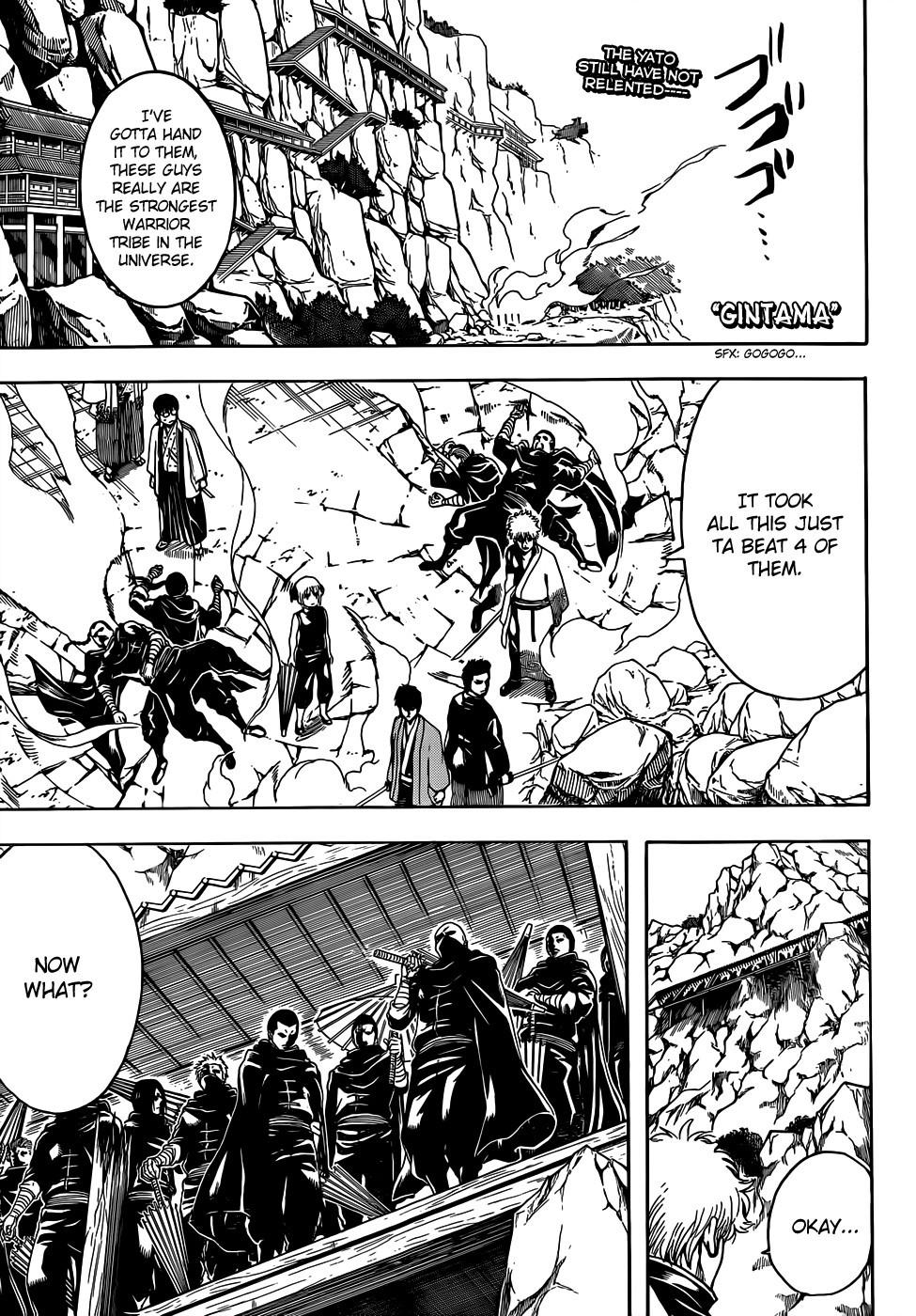 Gintama Chapter, 511 image 001