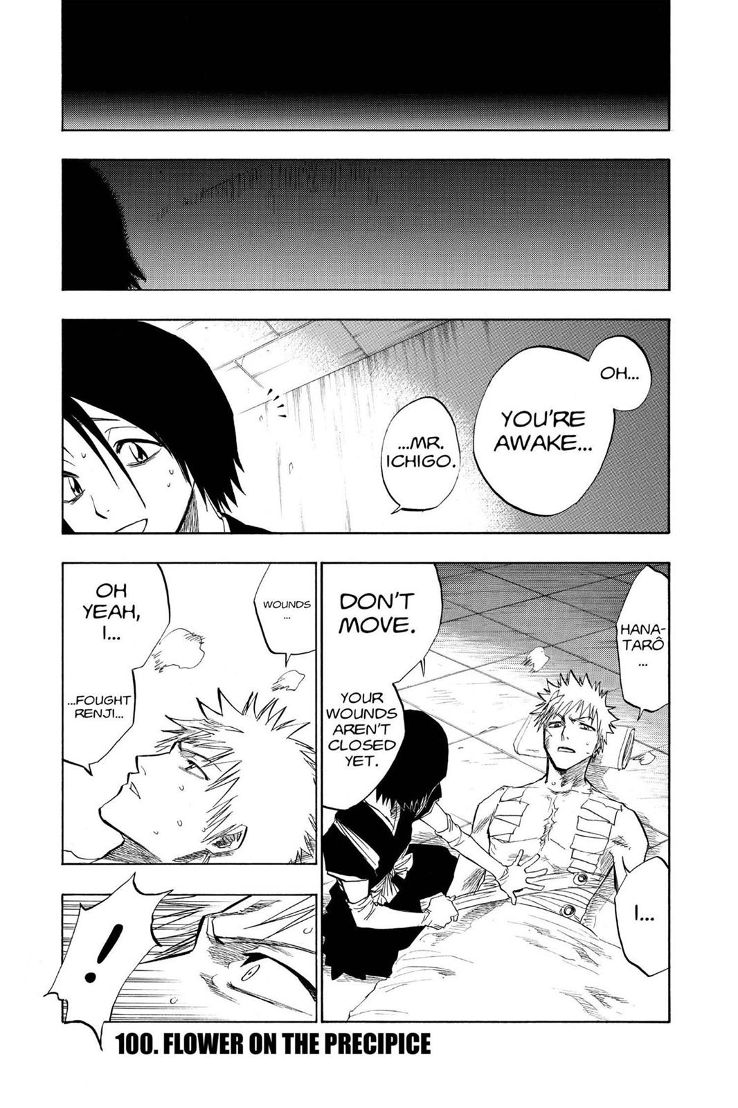 Bleach, Chapter 100 image 001