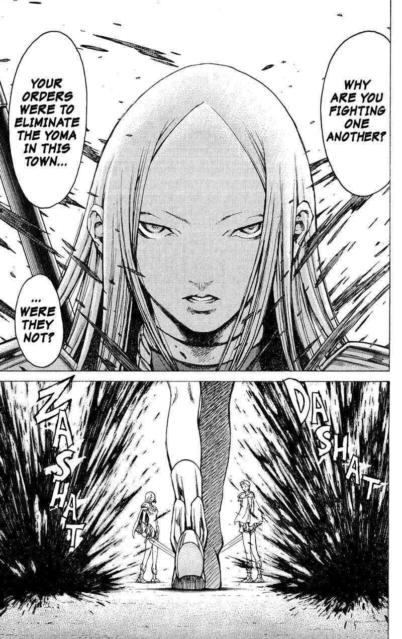 Claymore, Chapter 18 image 012