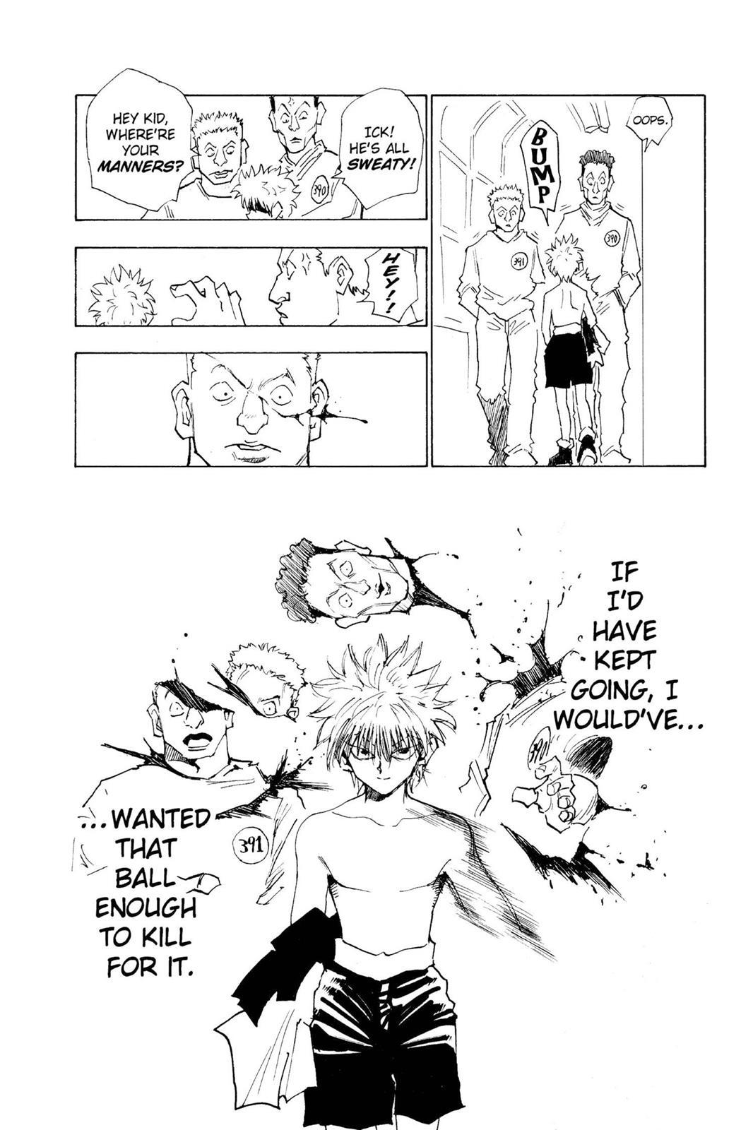 Hunter X Hunter, Chapter 14 image 012