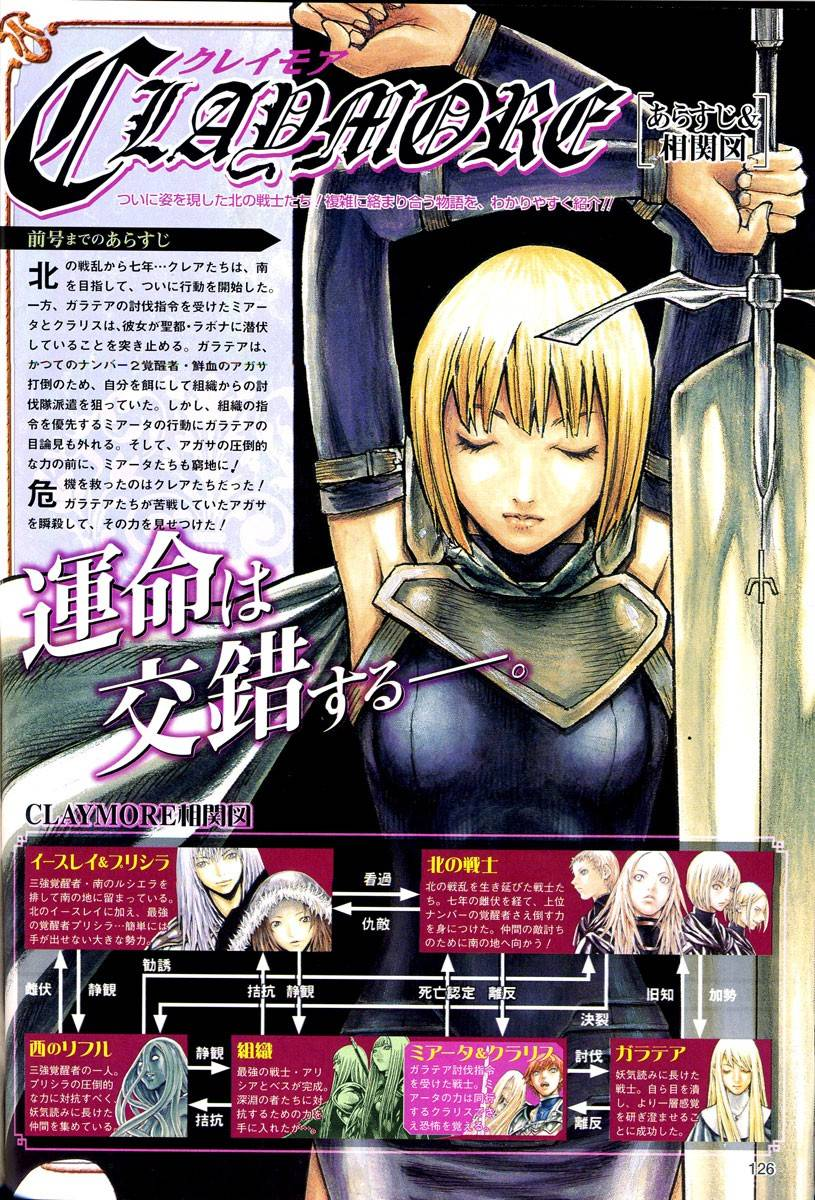 Claymore, Chapter 79 image 029