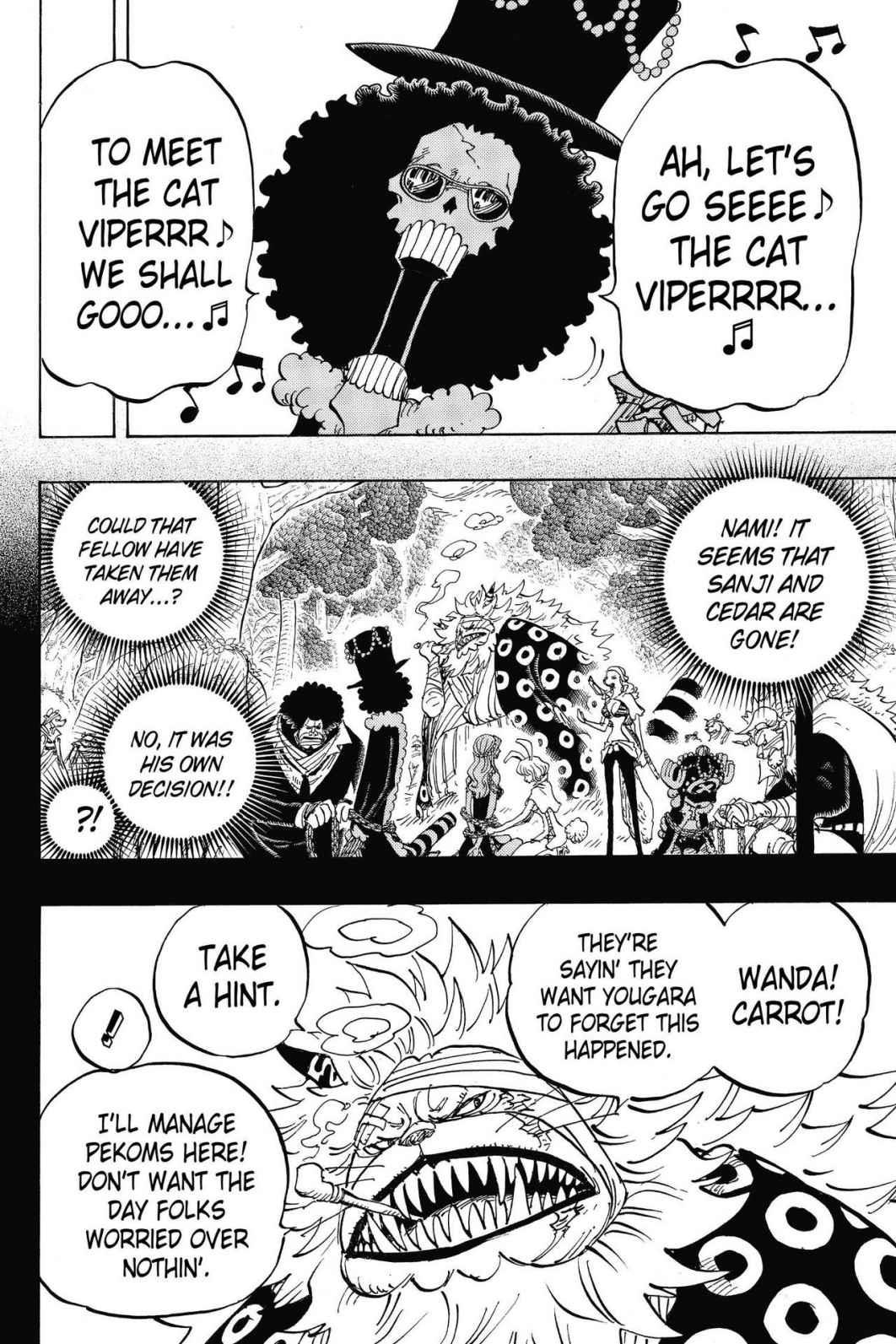 One Piece, Chapter 814 image 002