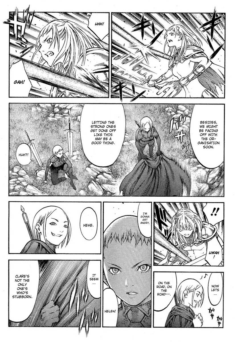 Claymore, Chapter 85 image 013