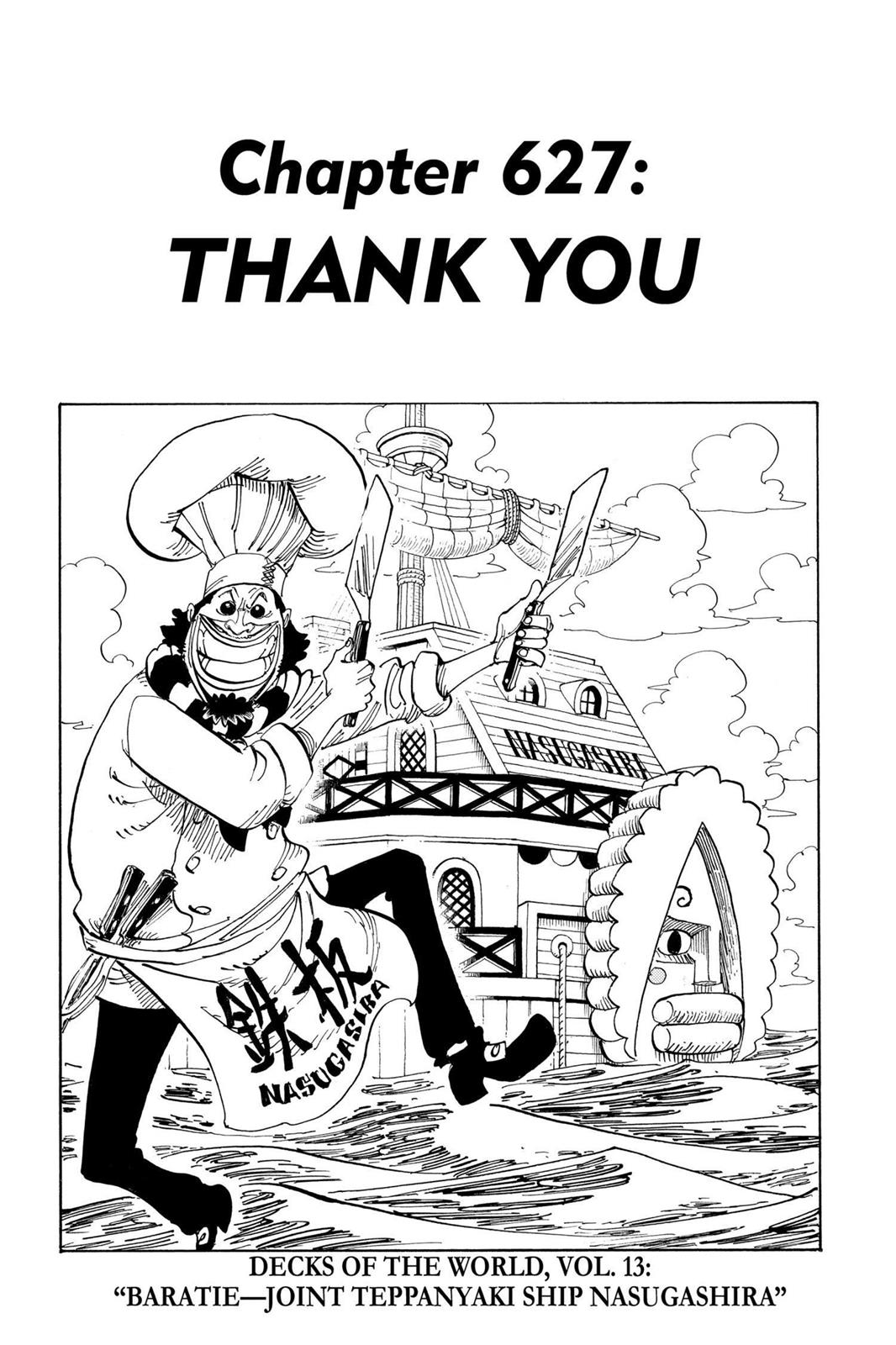 One Piece, Chapter 627 image 008