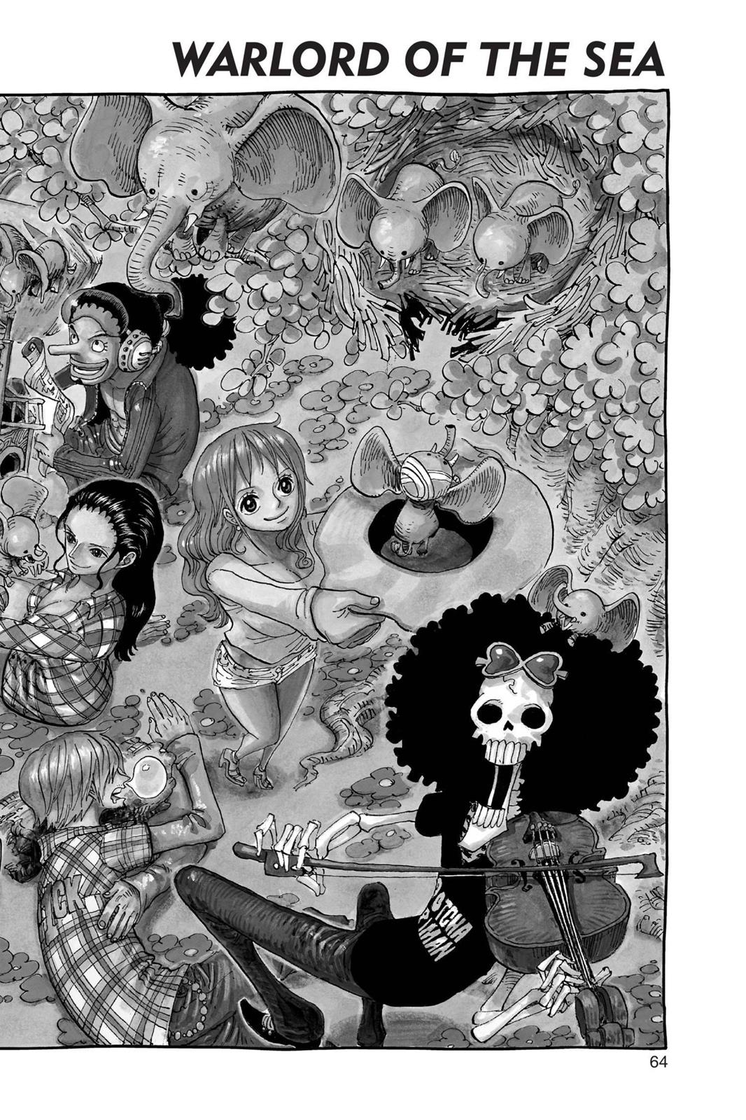 One Piece, Chapter 660 image 001