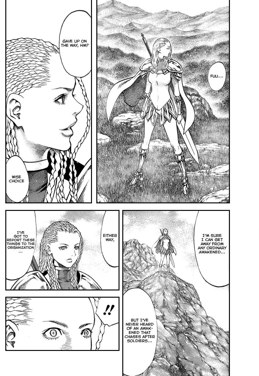 Claymore, Chapter 81 image 028