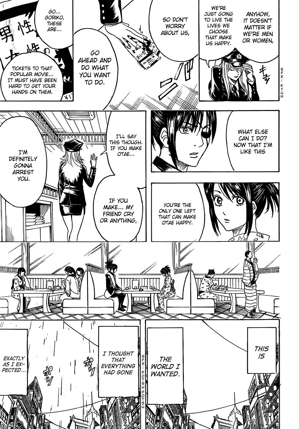Gintama Chapter, 441 image 009