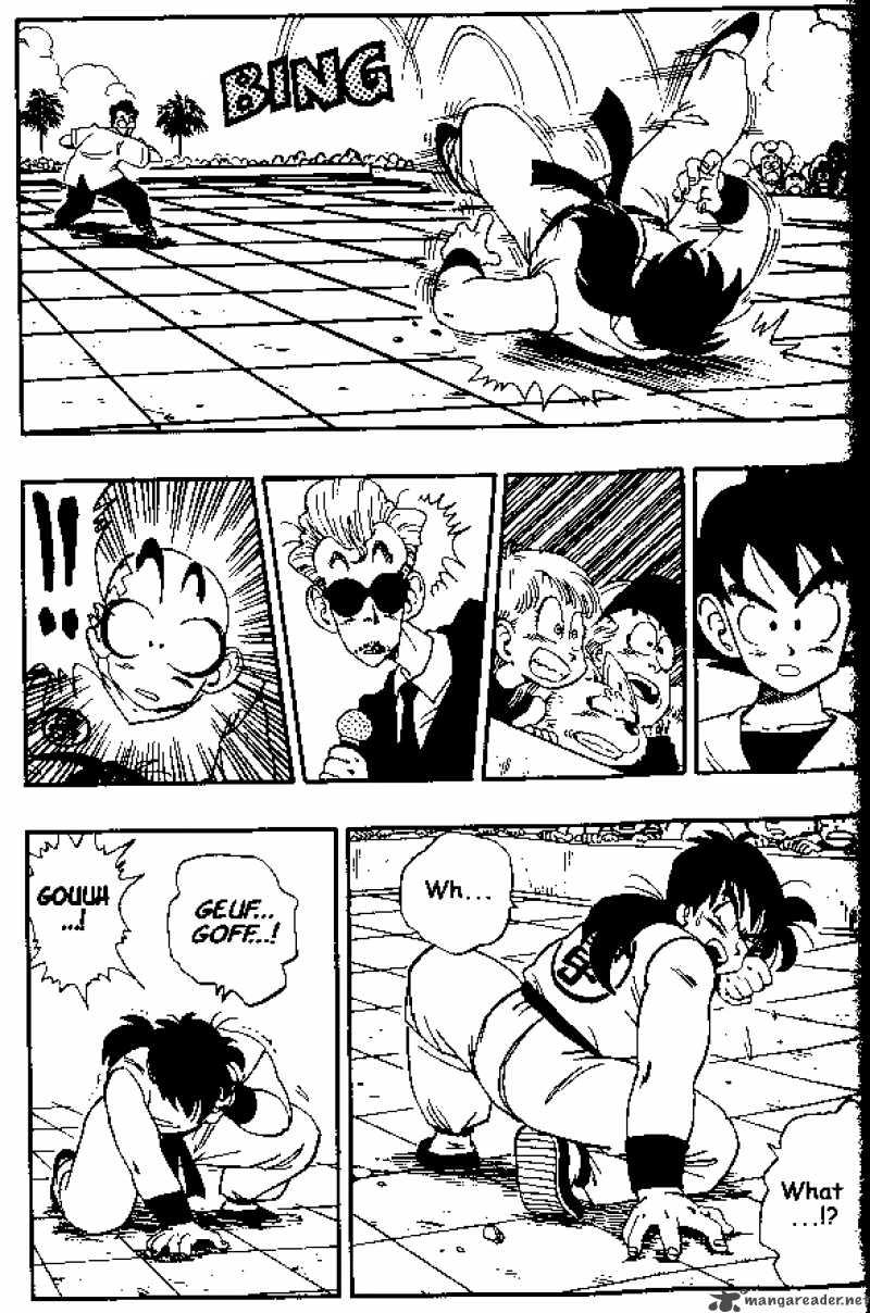 Dragon Ball, Chapter 174 image 011