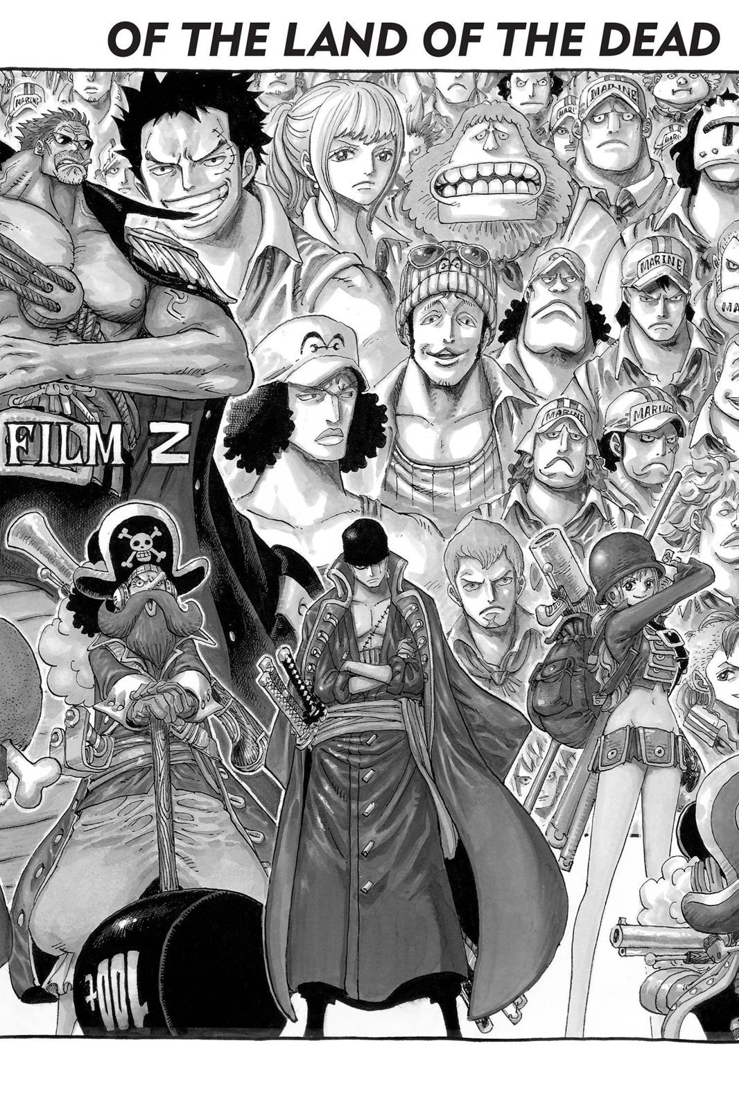 One Piece, Chapter 691 image 009