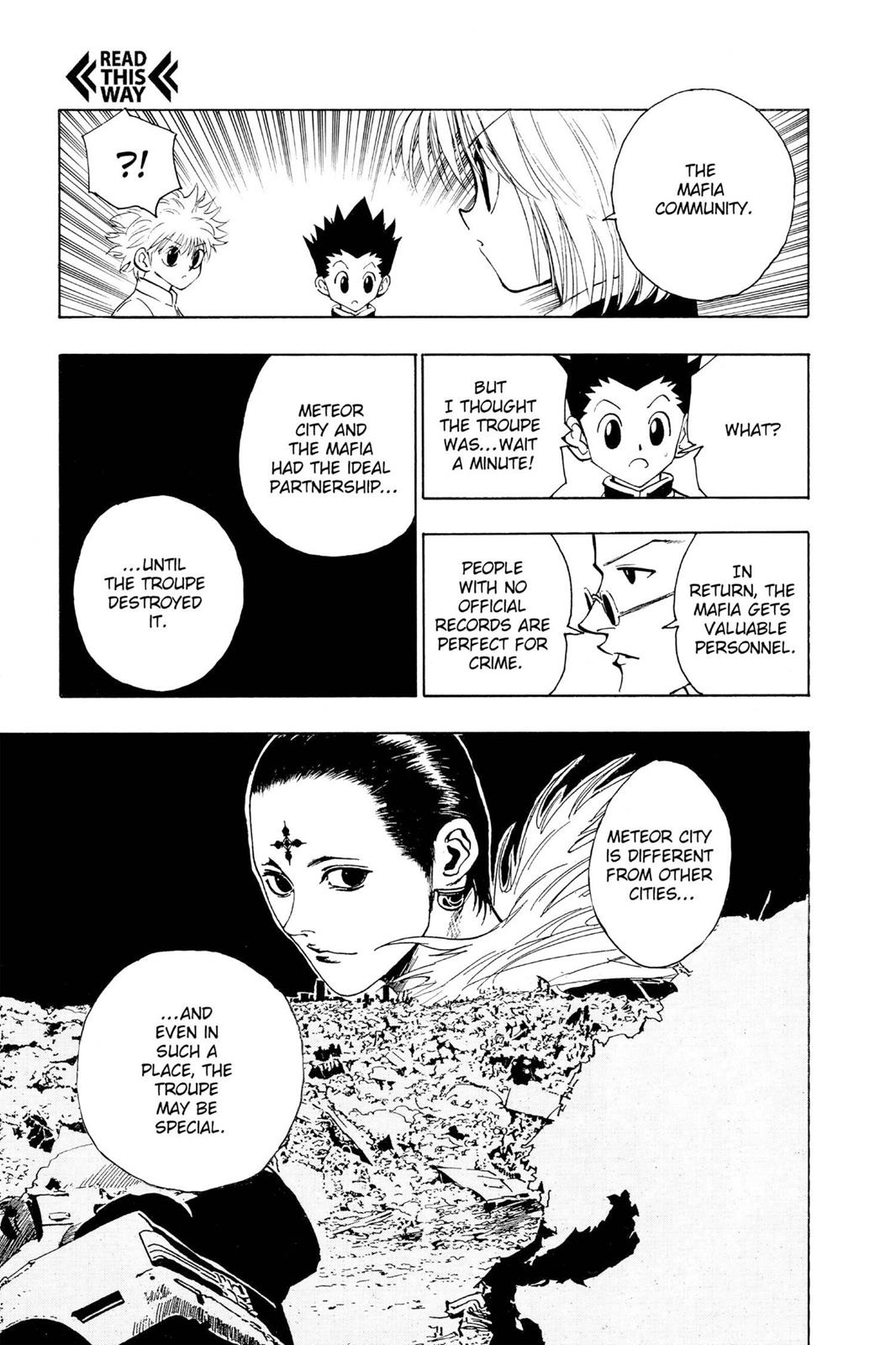 Hunter X Hunter, Chapter 105 image 005