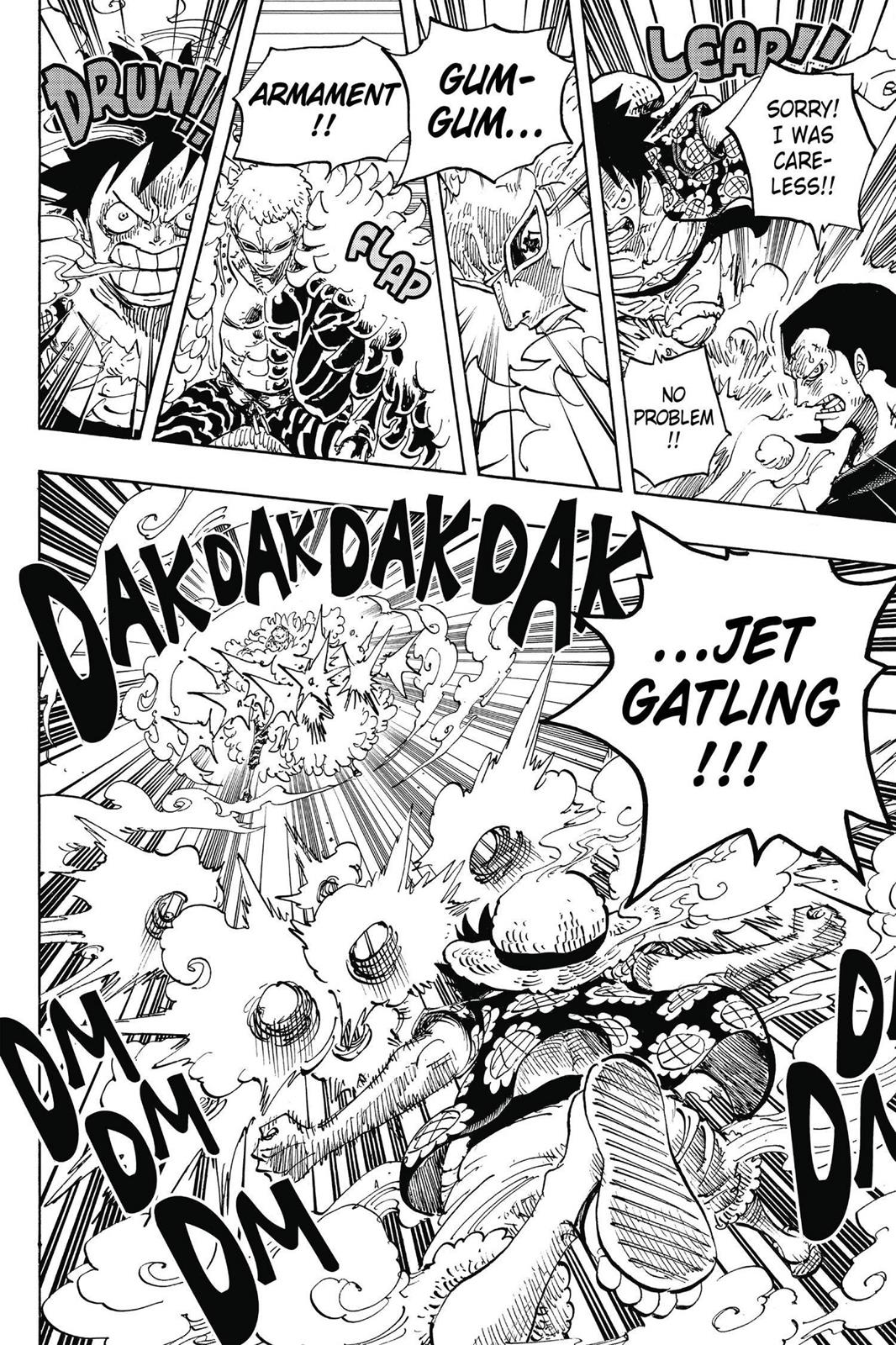 One Piece, Chapter 745 image 009