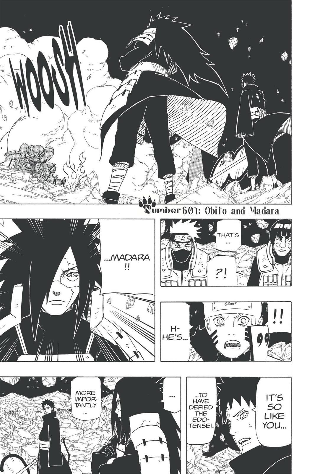 Naruto, Chapter 601 image 001