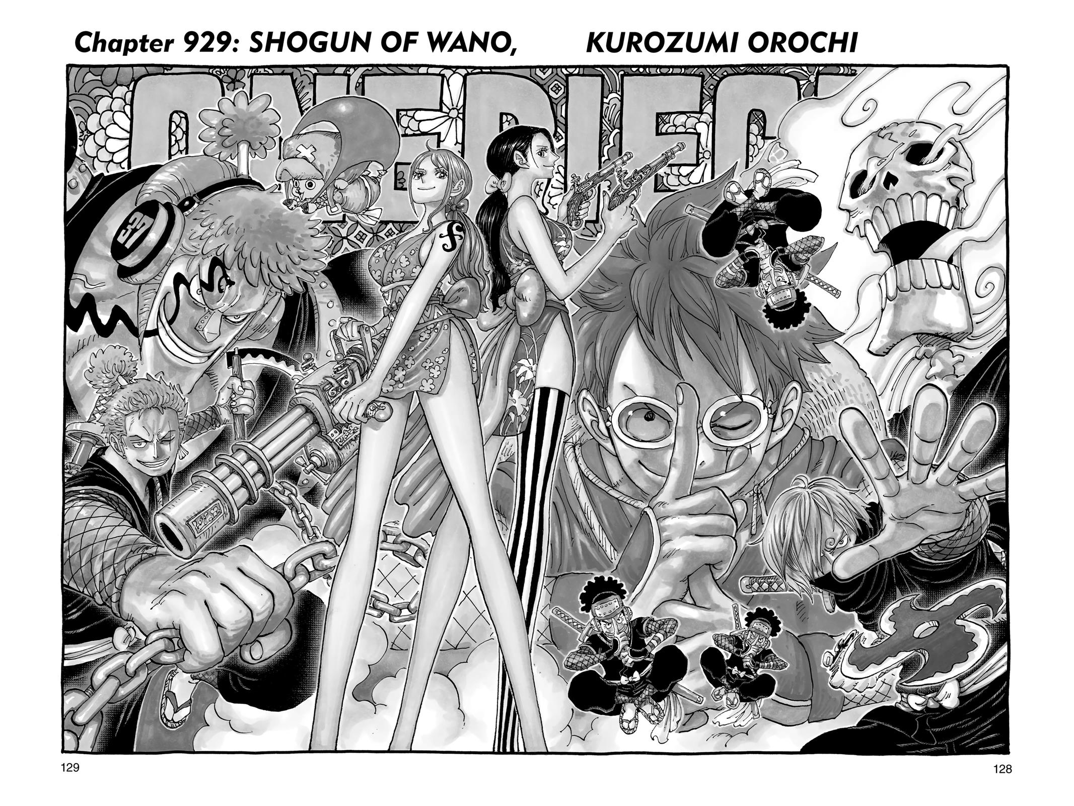 One Piece, Chapter 929 image 001